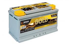 Акумулатор JENOX 12V 100Ah/860A GOLD Maintenance Free